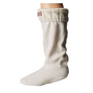 HUNTER 6 Stitch Cable Boot Socks